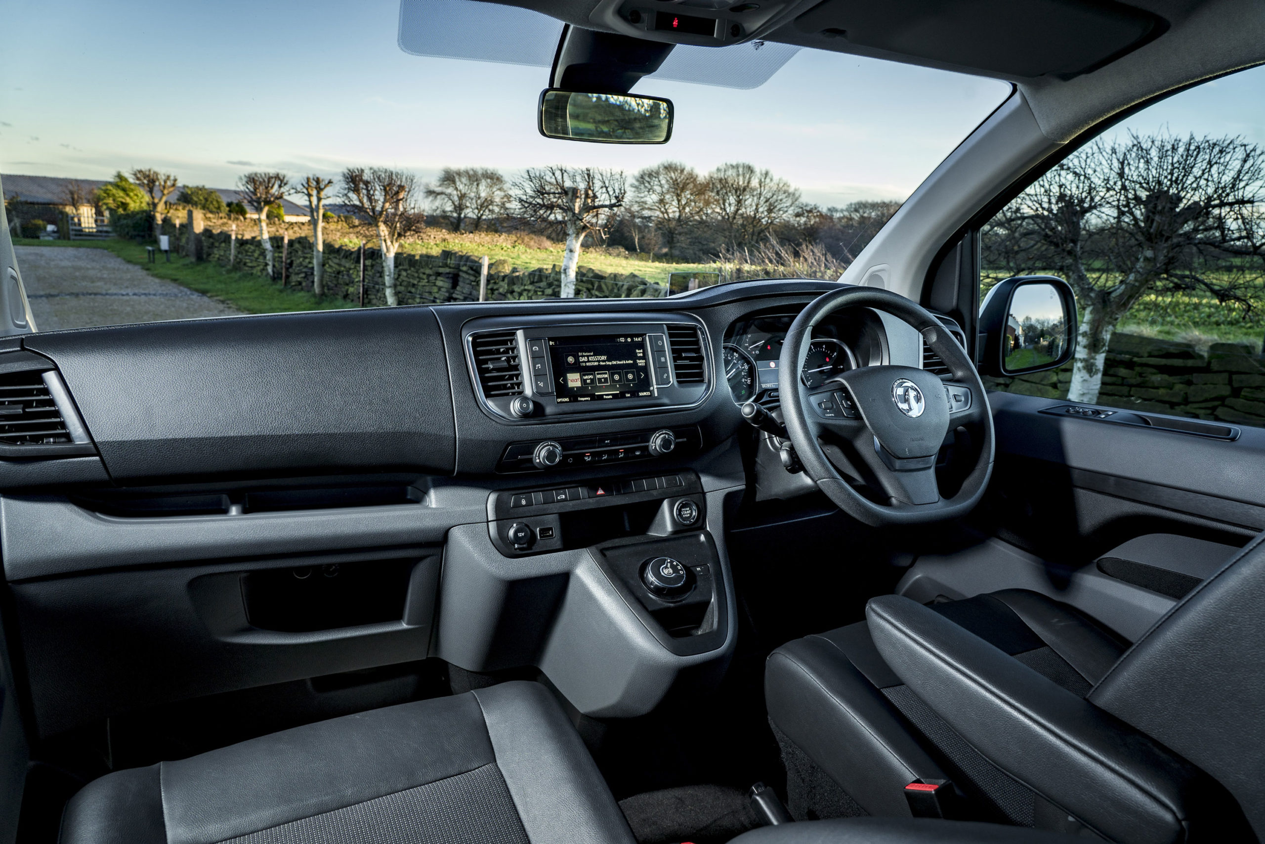Vauxhall Vivaro Elite Campervan Dash