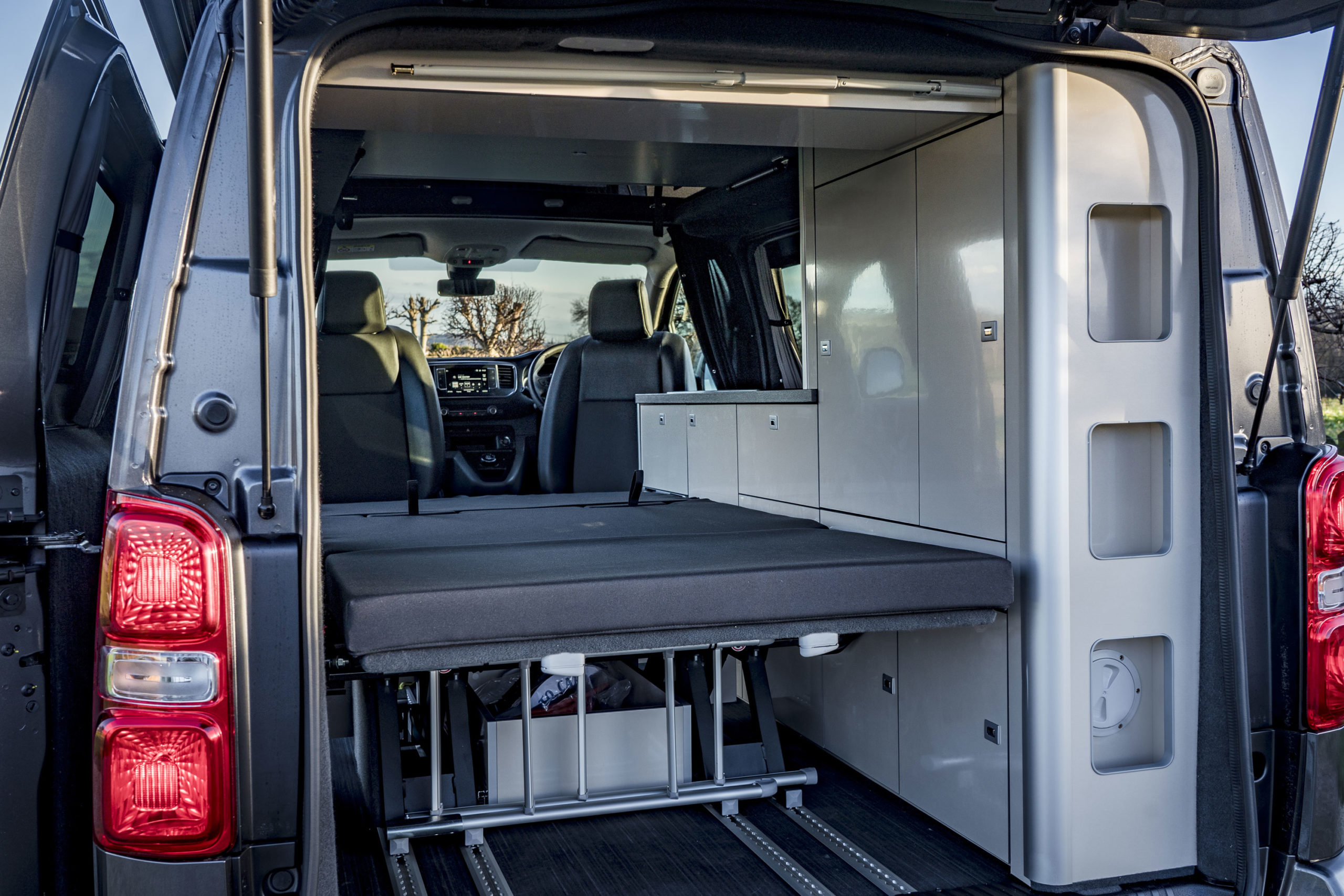 Vauxhall Vivaro Elite Campervan Folding Bed