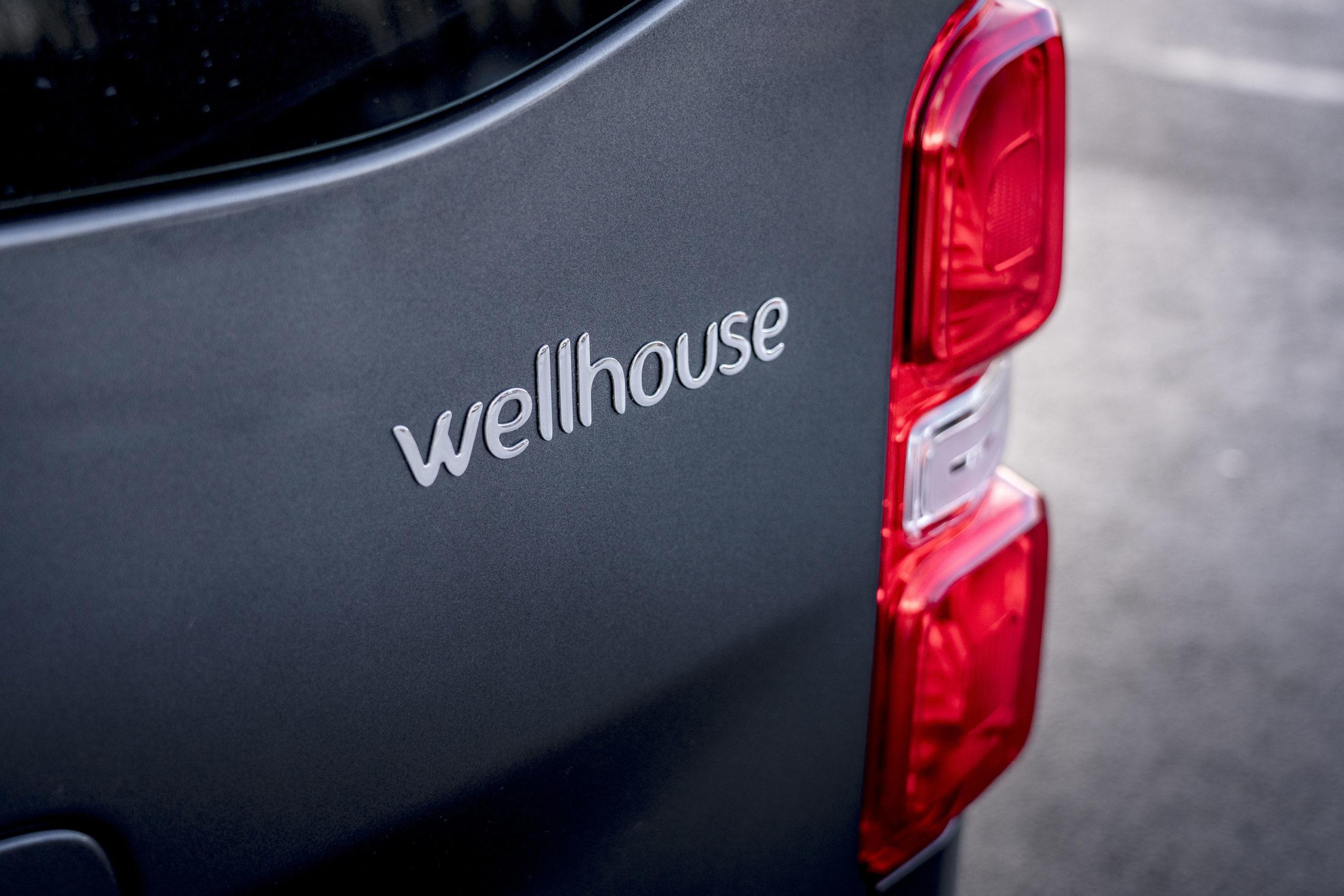 Vauxhall Vivaro Elite Campervan Wellhouse Logo