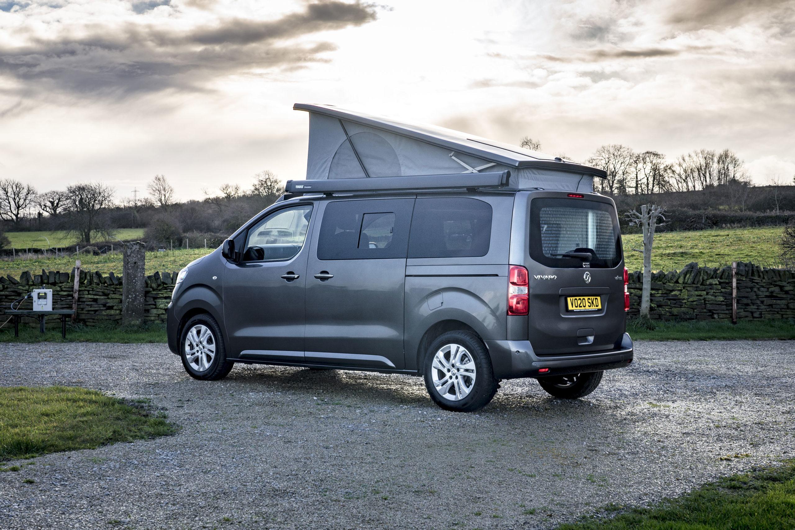 Vauxhall Vivaro Elite Campervan Side