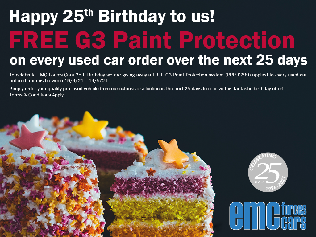 EMC Forces Cars 25th Birthday